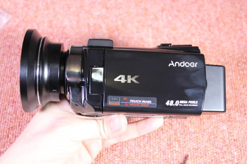 激安中華ビデオカメラを開封レビューしてみた!【Andoer 4K ビデオカメラ】