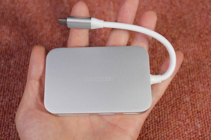 microSDもHDMIも全部一つにまとめたいときに便利なガジェット!【USB Type-C ハブ , 開封レビュー】