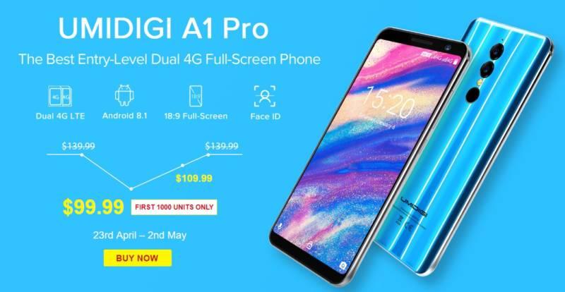 GearBest UMIDIGI A1 Pro セール (2)