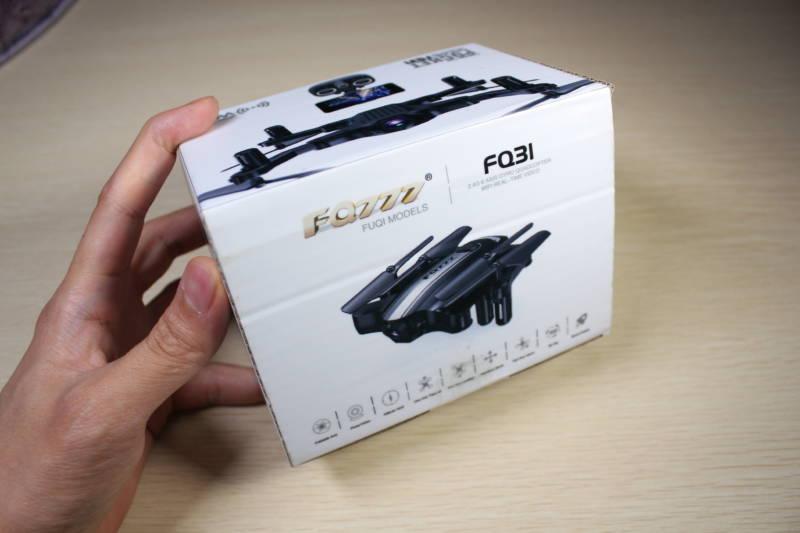 FQ777 FQ31W ドローン 開封レビュ