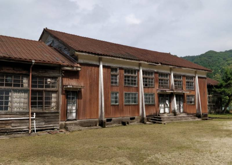 【SJ8 Pro , アクションカメラ】廃校に行って、撮影してみた。