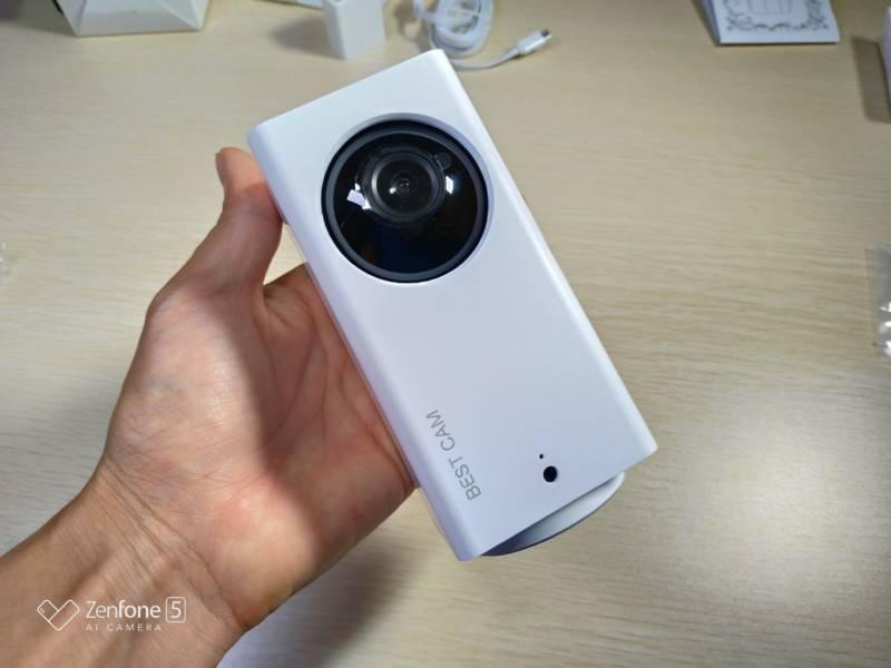 今おすすめの監視カメラはこれ!開封レビュー!【BESTCAM 108J 360度 自動追跡監視カメラ】