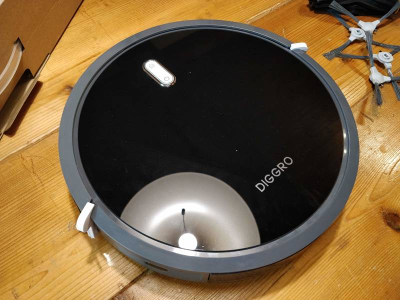 2万円切りの激安ロボット掃除機の開封レビュー!【Diggro D300 ロボット掃除機】