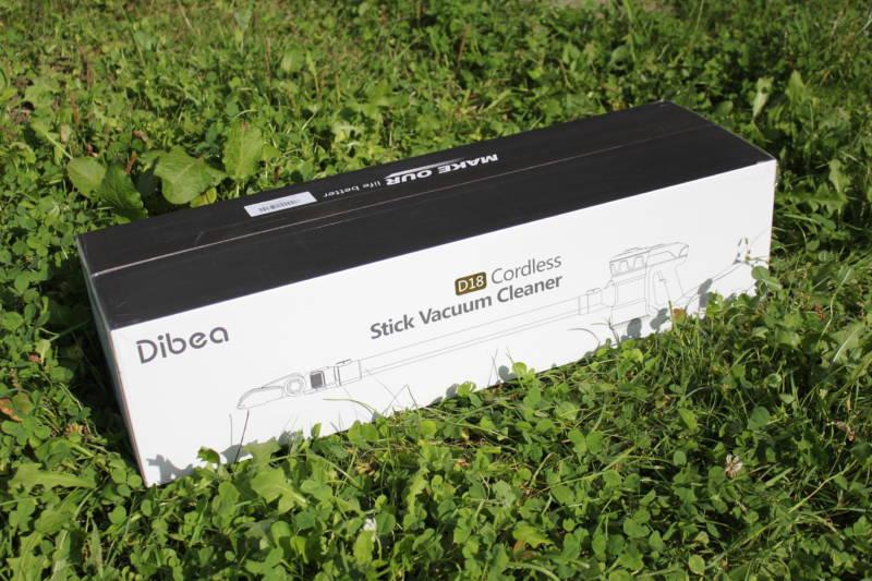 Dibea D18 開封レビュー (1)