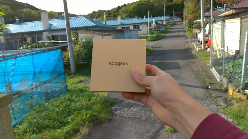 Koogeek KSFG5 EMS マッサージャー 開封レビュー (1)