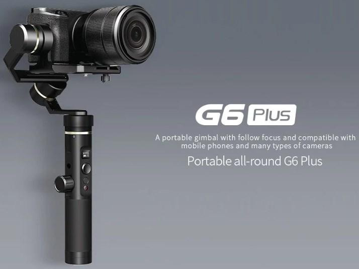 FeiyuTech G6 Plusのスペック情報と特徴まとめ