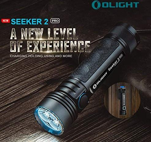 3200ルーメンの超高輝度、高級フラッシュライトを使ってみた【OLIGHT オーライト SEEKER 2 PRO】